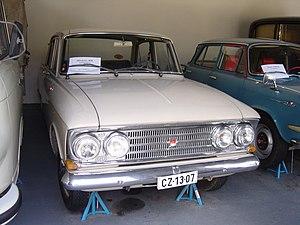Moskvitch 408 - Image: Moskvich 408 at the Közlekedési Múzeum in Hungary