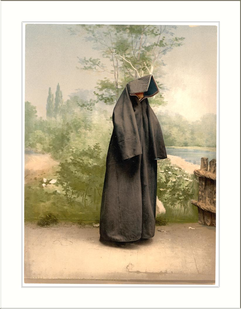 Mostar Mahomedan woman Herzegowina Austro-Hungary