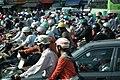Motorcycle Thành phố Hồ Chí Minh ホーチミン市のオートバイの群れ DSCF2198.jpg