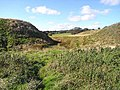 Motte and Bailey Castle at Elsdon - geograph.org.uk - 1521231.jpg