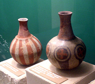Moundville Archaeological Site - Mississippian culture pottery found at the Moundville Site