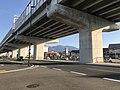 Mount Aburayama and Fukuoka Express Circular Route near Jiromaru Station.jpg