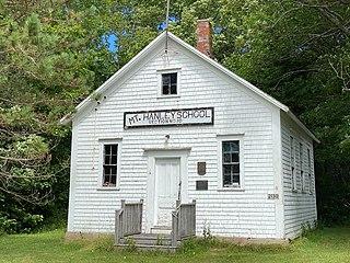 Mount Hanley Schoolhouse Museum community schoolhouse museum in Annapolis County, Nova Scotia Canada