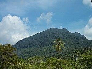 Natuna Besar - Mount Ranai on Natuna Besar
