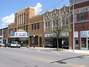 Mount Vernon, Illinois - Town Center of Mount Vernon