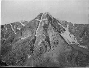 Mount of the Holy Cross - Image: Mountain of the Holy Cross, Colorado NARA 517691