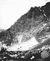 Mountainside near Alaska Railroad line, probably near Fairbanks, Alaska, December 9, 1919 (AL+CA 5730).jpg