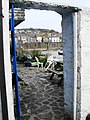 Mousehole, patio on the harbour - geograph.org.uk - 805331.jpg