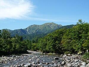 Mount Echigo-Komagatake - View from Ginzandaira (September 2009)