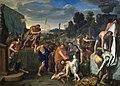 Mucius Scaevola devant Porsenna - Charles Le Brun.jpg