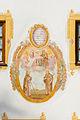 Mural Anna, Maria, Child, Joseph, Anthony of Padua, Oberammergau, Bavaria, Germany.jpg