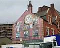 Mural on Wall of Property in Mabgate - geograph.org.uk - 561446.jpg