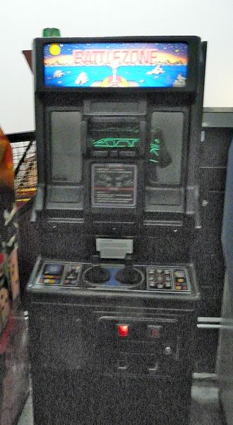 Virtual reality - Battlezone, an arcade video game from 1980, used 3D vector graphics to immerse the player in a VR world.(Atari).