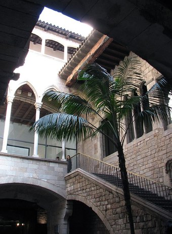 Museu Picasso is located in the gothic palaces of Montcada street in Barcelona Museu Picasso Barcelona.jpg