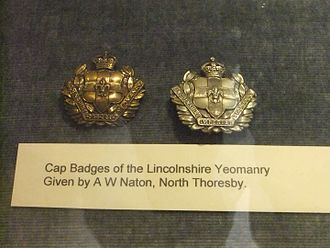 Lincolnshire Yeomanry - Badges, Lincolnshire Imperial Yeomany, 1900