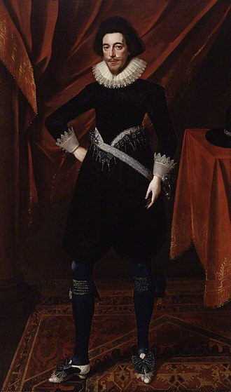 Robert Devereux, 3rd Earl of Essex - Portrait of Robert Devereux 3rd Earl of Essex