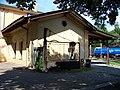 Nádraží Praha-Bubeneč, jihovýchodní strana budovy.jpg