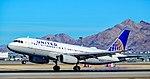 N444UA United Airlines Airbus A320-232 s-n 824 (27933965109).jpg