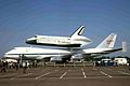 N905NA 1 B747-123 - Space Shuttle NASA STN 15JUN83 (6505940539).jpg
