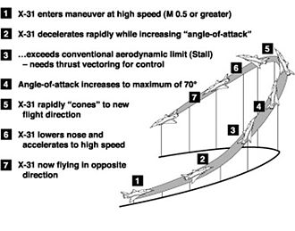 Herbst maneuver - A diagram of the Herbst maneuver. (NASA)