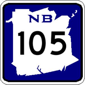 New Brunswick Route 10 - Image: NB 105