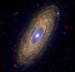 NGC2841 3.6 8.0 24 microns spitzer.png