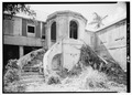 NORTHEAST FRONT ENTRANCE, LOOKING WEST - 67 East Street (House), Christiansted, St. Croix, VI HABS VI,1-CHRIS,12-2.tif