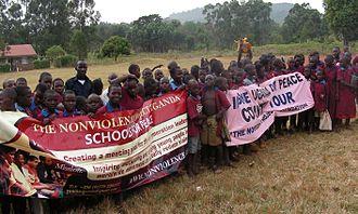 The Non-Violence Project - Schools for Peace, NVP Uganda, 2011