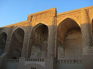 Nain, Iran - Na'in Jame' mosque yard