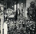 Nabożeństwo żałobne w 5 pp LP za poległych pod Kostiuchnówką, 1917.jpg