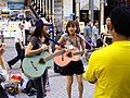 Nagisa Abe live in Akihabara.jpg
