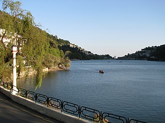 Kumaon division - Nainital Lake, One of the four lakes of Kumaon