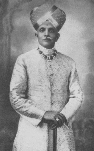 Krishna Raja Wadiyar IV - Image: Nalvadi Krishnaraja Wodeyar 1881 1940