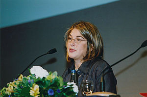 Naomi Klein - Klein speaking in 2002