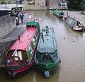 Narrow boats in Skipton 01.JPG