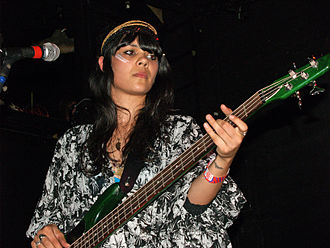 Bat for Lashes - Khan playing New York City's Bowery Ballroom in 2007, promoting Fur and Gold.