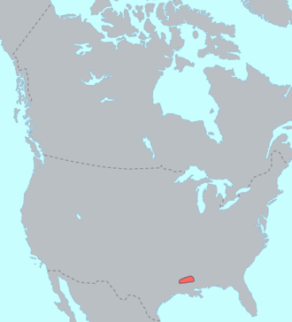 Natchez people - Pre-contact distribution of the Natchez people
