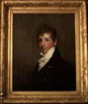 Nathan Appleton - Portrait of Nathan Appleton by Gilbert Stuart, ca.1812