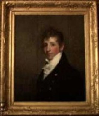 Nathan Appleton - Portrait of Nathan Appleton by Gilbert Stuart, ca.1812