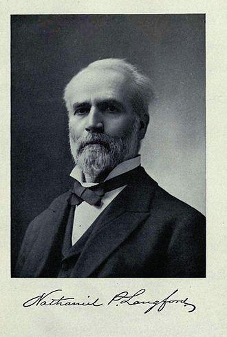 Nathaniel P. Langford - Image: Nathaniel Pitt Langford(1905)