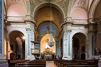 Nef de l'église Saint-Étienne, Saint-Étienne-de-Tinée, France.jpg
