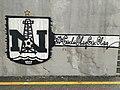 Neftçi PFK graffiti in Baku.jpg