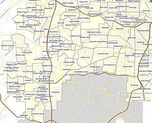 Neighborhoods in Atlanta - Southwest Atlanta