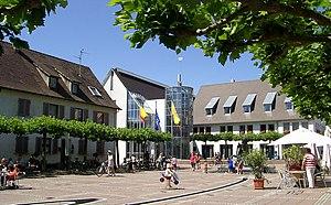 Neuenburg am Rhein - Neuenburg am Rhein, Town hall place