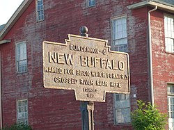 Official logo of New Buffalo, Pennsylvania