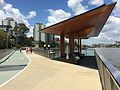 New Farm Riverwalk rest area 02.JPG
