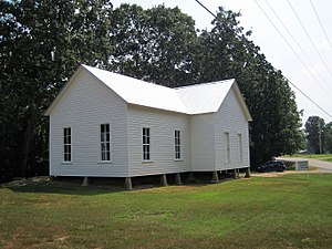 National Register of Historic Places listings in Cross County, Arkansas - Image: New Hope School Smith Cross County AR 2013 09 09 007