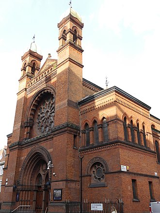 Grade I listed buildings in the City of Westminster - Image: New West End Synagogue, Bayswater, London 11