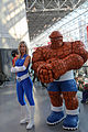 New York Comic Con 2015 - Invisible Woman & The Thing (21442119434).jpg