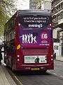 New red NXWM bus - route 141 - Colmore Row, Birmingham - 6116 - Neve (17146625747).jpg
